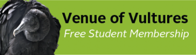 Venue of Vultures — Free Student Membership image