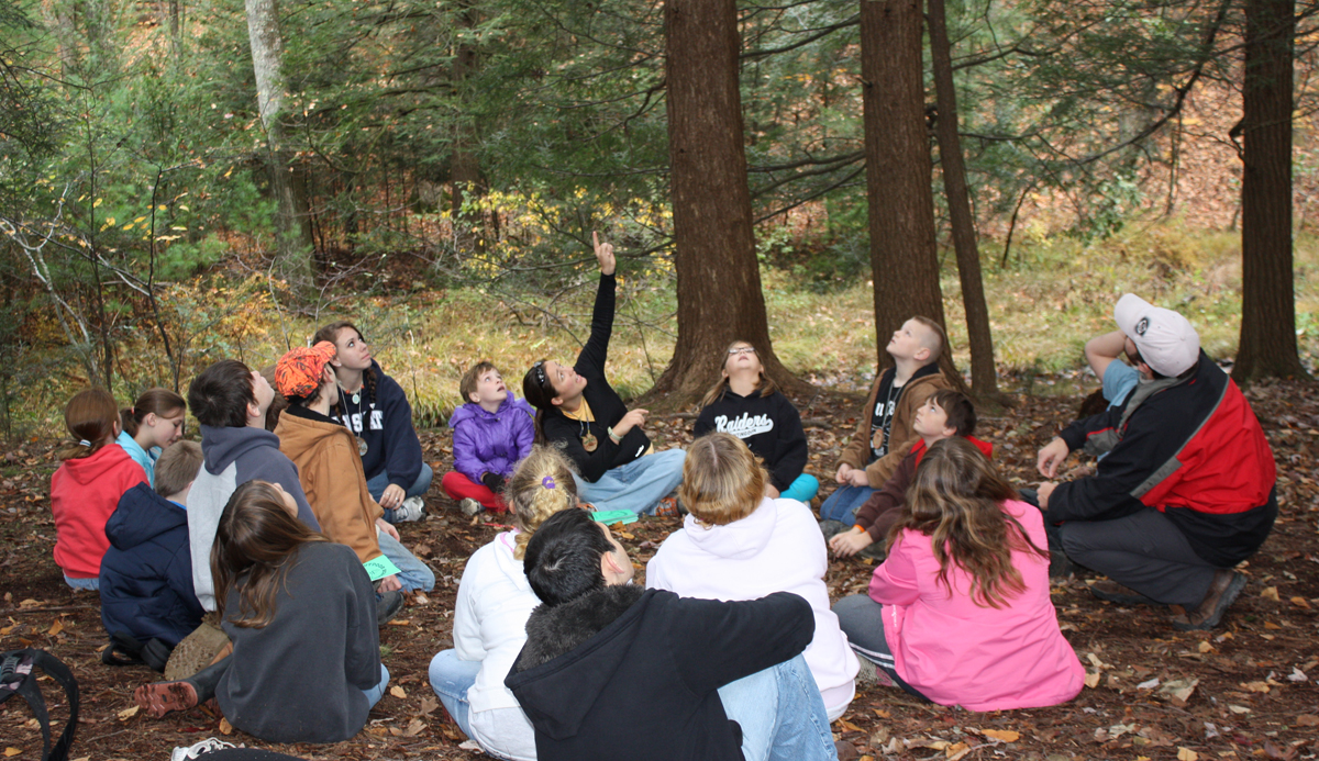 Outdoor School Learning Circle