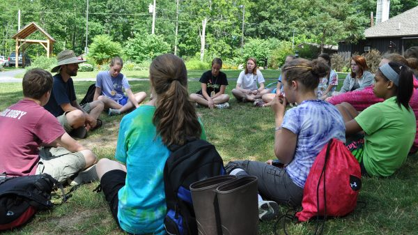 A Shaver's Creek leaders-in-training session