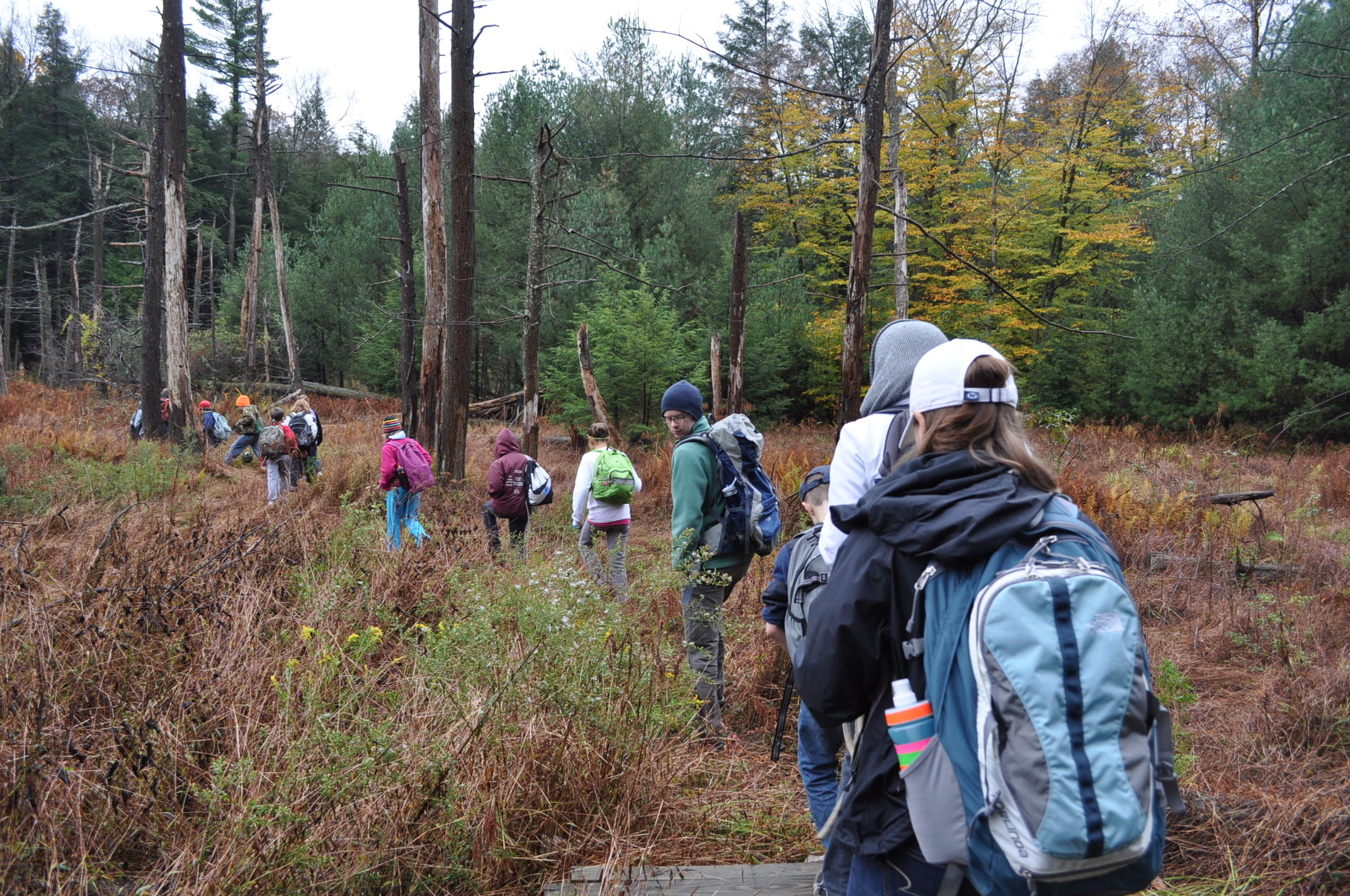 Outdoor School Penn Staters Teaching Grade Schoolers In The Outdoors