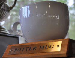 The Potter Mug award: a ceramic coffee mug