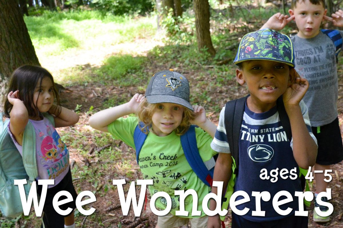 Wee Wonderers ages 4-5