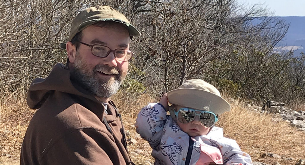 Image of Jon Kaufmann and daughter Hazel