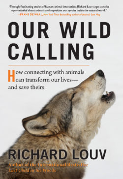 Image of the cover of Richard Louv's book Our Wild Calling