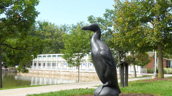 Sculpture of the Great Auk